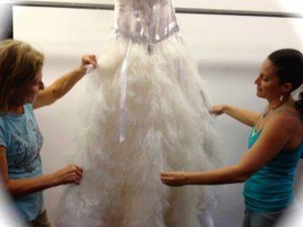 Чистка свадебного платья в химчистке