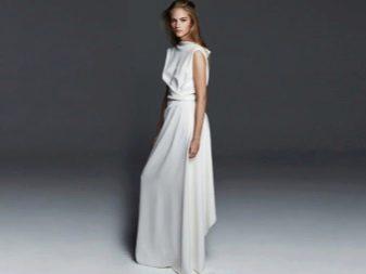 Свадебное платье от Max Mara простое
