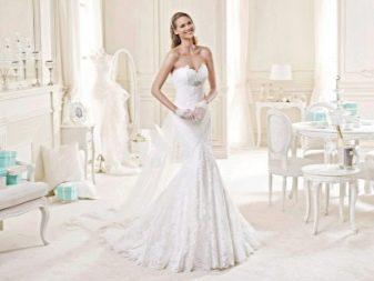 Свадебное платье от Nicole Fashion Group русалка
