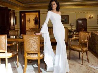 Свадебное платье на одно плечо от Димитруса Далиа