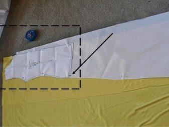 Выкройка платья в горох для беременных