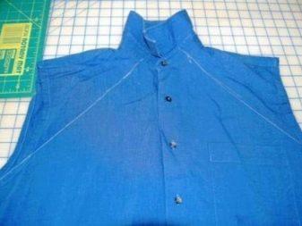 Черчение декольте на мужской рубашке