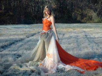 Платье из палатки