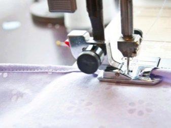 Обработка краев лифа нарядного платья для девочки