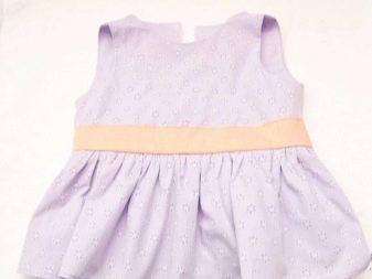Притачивание оборок на платье - шаг 5