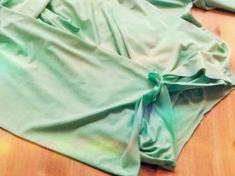 Сшивание деталей летнего асимметричного платья