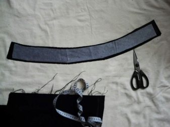 Заготовка пояса для юбки полусолнце (конической юбки)