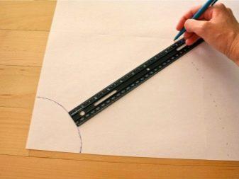 Выкройка юбки полусолнце на резинке