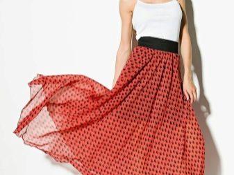 юбка с пришитой резинкой