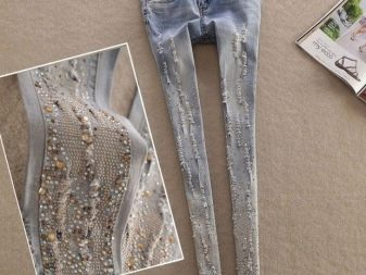 Как украсить джинсы своими руками в домашних условиях (105 фото): кружевом, бусинами, стразами