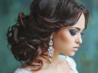 Свадебные серьги (37 фото): модели на свадьбу для невесты, длинные сережки