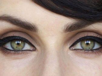 Круглые глаза рисунок