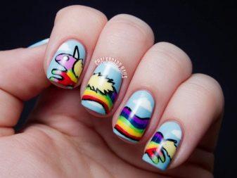 Креативный маникюр (52 фото): новинки оригинального дизайна ногтей
