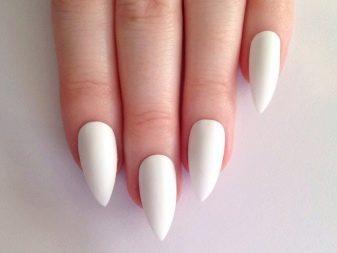 Значение формы ногтей