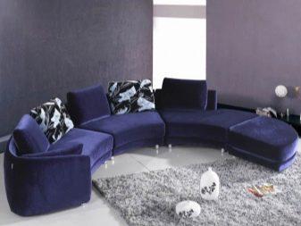 Диваны синего цвета фото – как сочетать модели темно-синего цвета в интерьере, бархатный большой и красивый со вставками зебры, тканевый