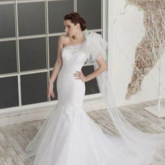Свадебное платье русалочка от Юлии Шрейнер