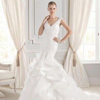 Свадебное платье русалочка La Sposa