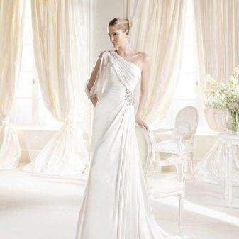 Свадебное платье ампир от La Sposa