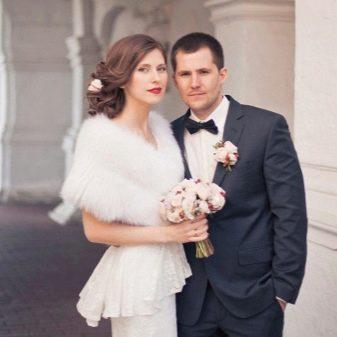 Свадебная накидка для венчания