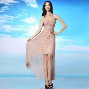Платье телесного цвета  для свидания