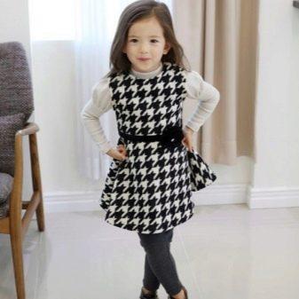 Платье-сарафан для девочки 5 лет на каждый день