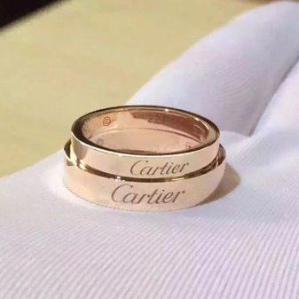 картье фото кольца