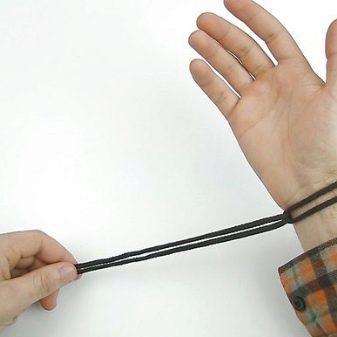 Быстрорасплетающийся браслет из паракорда
