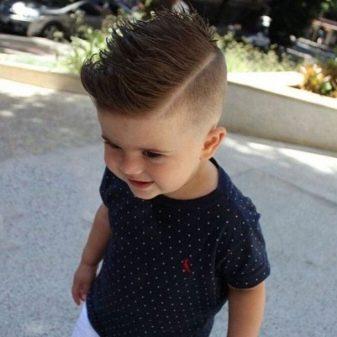 Стрижка для ребенка 2 года