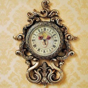 Часы в зал настенные фото