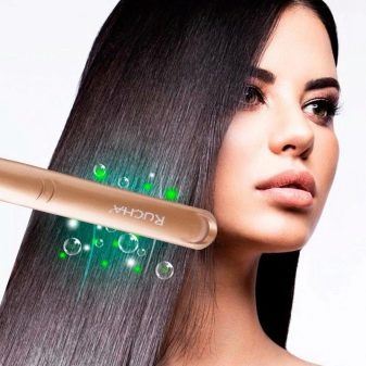 Спрей для укладки волос утюжком