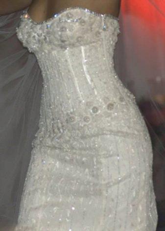 Алмазное свадебное платье - самое дорогое