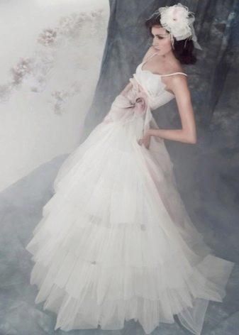 Свадебное платье из коллекции Горецкой