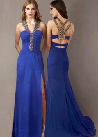 Платье вечернее греческое с украшениями