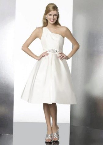 Свадебное платье в стиле нью-лук для беременных