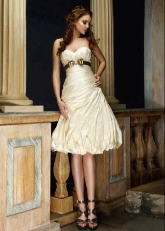 Короткое свадебное платье от Наталья Романова