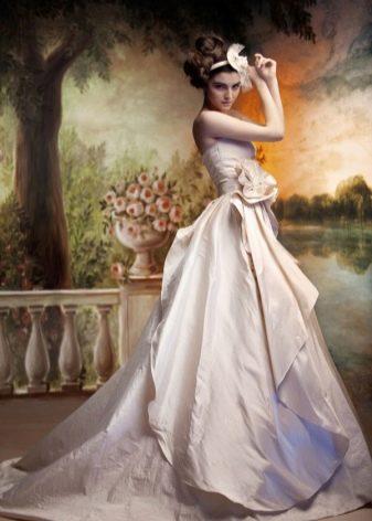 Свадебное платье пышное от Светланы Лялиной
