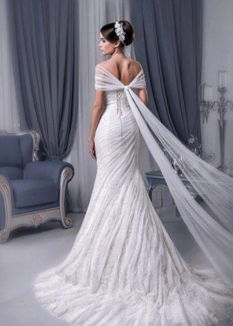 Свадебное платье прямое от Светланы Лялиной