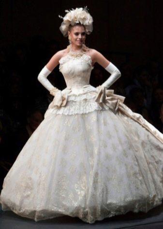 Свадебное платье от Вячеслава Зайцева