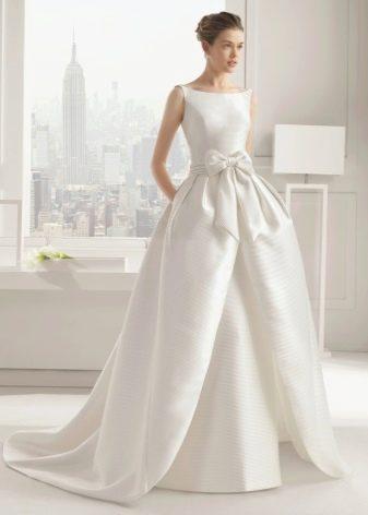 Свадебное платье с накладной юбкой от Rosa Clarа