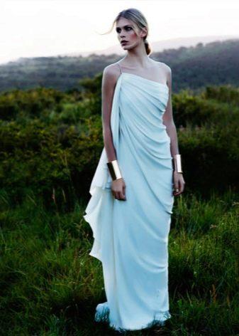 Греческий стиль в свадебном платье