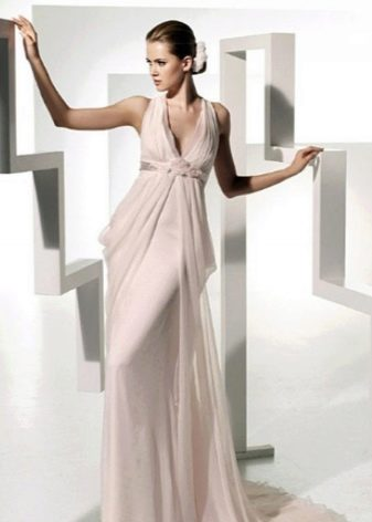 Классическое греческое свадебное платье