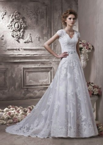 Свадебное платье для венчания трансформер