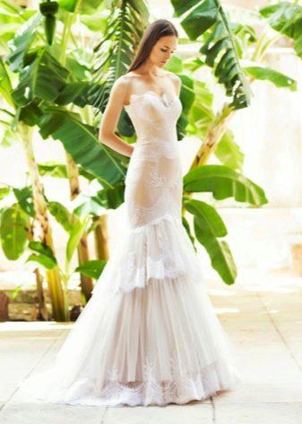Свадебное платье от Christos Costarellos