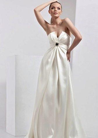 Свадебное платье ампир с жестким лифом