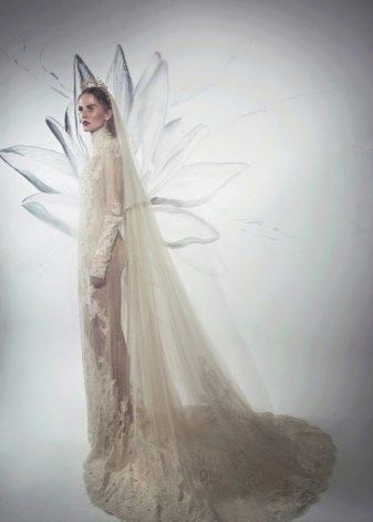 Свадебное платье Lee Petra Grebenau страшное