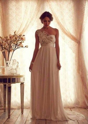 Свадебное платье в греческом стиле от Anna Campbell