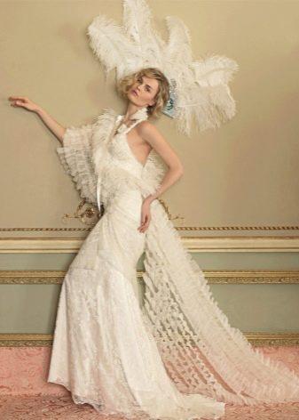 Свадебное платье в ретро стиле от Йолана Криса