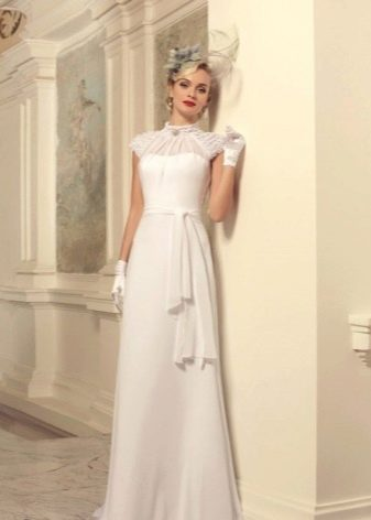 Свадебное платье в стиле винтаж прямое