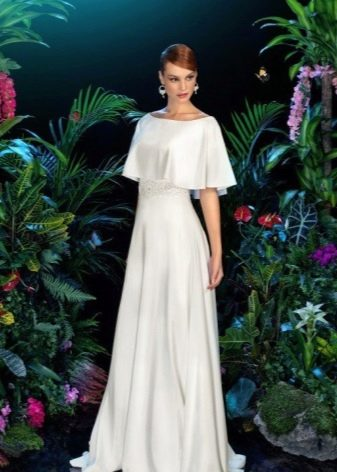 Скромное свадебное платье в стиле винтаж