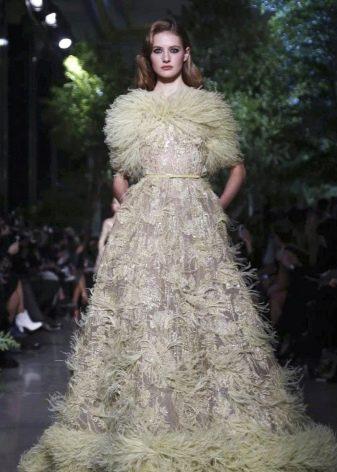 Вечернее платье от Elie Saab пышное